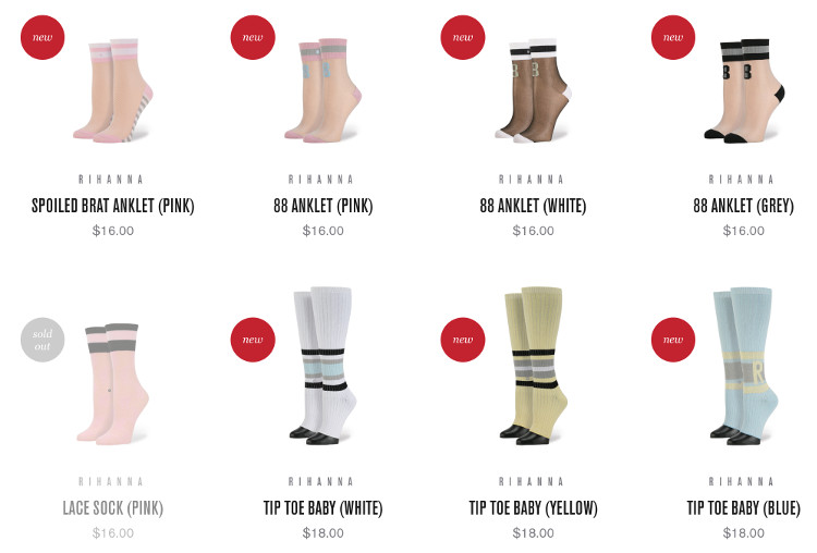 rihanna stance kollektion socken frühling sommer 2016 fashion blog deutsch