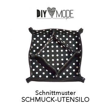 DIY MODE Schnittmuster Download Schmuck-Utensilo