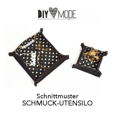 DIY MODE Schnittmuster Download Schmuck-Utensilo nähen