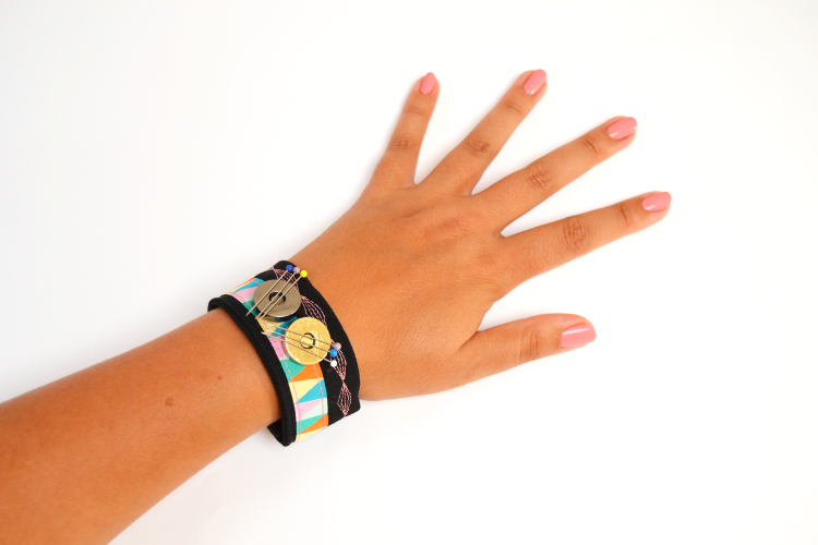 Magnet magnetisches Nadelkissen Armband Stecknadeln nähen selber machen