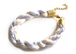 diy armband aus wolle anleitung selber selbst machen idee basteln