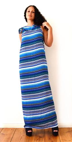 kleid sarong strandkleid maxikleid ohne nähen ideen geschenke selbst selber machen für anfänger lernen einfach