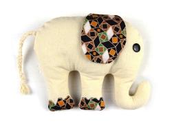 Kuscheltier Elefant mit Schnittmuster nähen ideen geschenke selbst selber machen für anfänger lernen einfach
