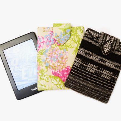 DIY MODE Kindle Hülle Schnittmuster / Tablet oder E-Reader Tasche selber machen