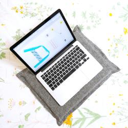 laptopkissen unterlage laptop nähen ideen geschenke selbst selber machen für anfänger lernen einfach