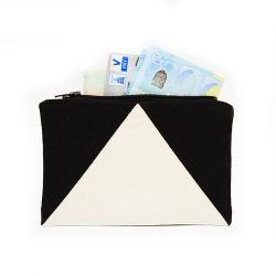 Einfaches Portemonnaie mit Schnittmuster