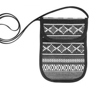 Mini Handtasche mit Schnittmuster nähen kleine Tasche Täschchen Brustbeutel selbst selber machen DIY MODE