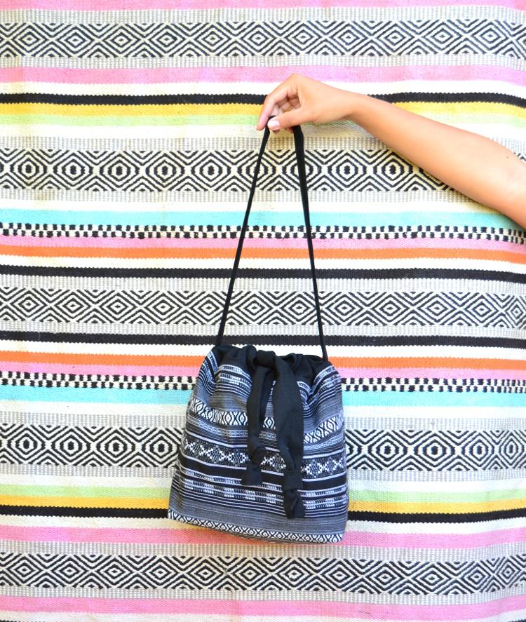 DIY MODE Bucket Bag Tasche nähen Schnittmuster