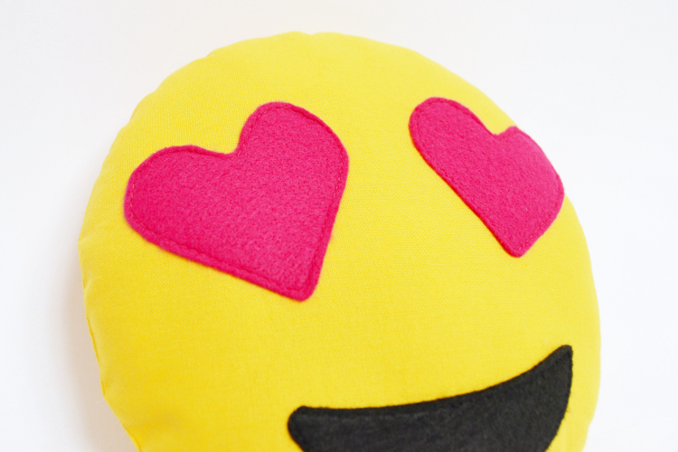 Diy Mode Emoji Kissen Nähen