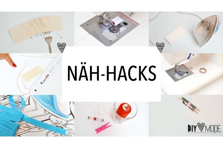 10 Nähhacks Nähtipps Tricks für Anfänger Hacks Nähen Tipps DIY MODE