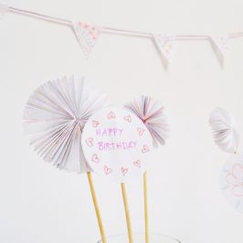 Party Deko / 3 einfache DIY Ideen*