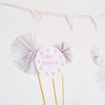 Party Deko DIY Ideen aus Papier