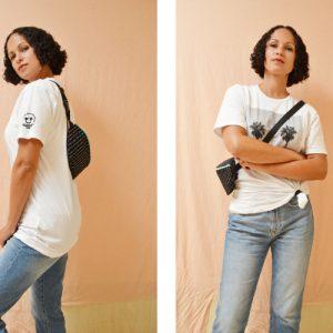 DIY MODE Hip Bag Bauchtasche Hüfttasche Gürteltasche nähen selber selbst machen 1