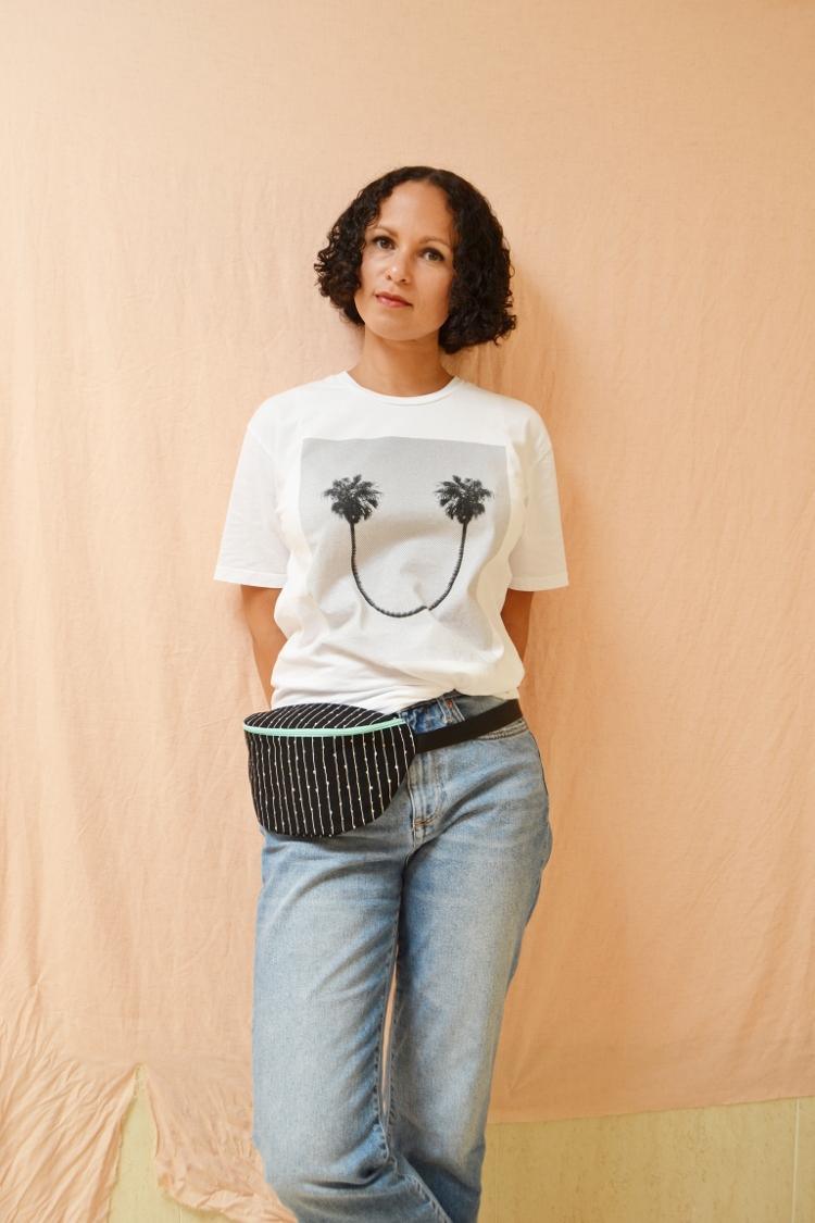DIY MODE Hip Bag Bauchtasche Hüfttasche Gürteltasche nähen selber selbst machen 3