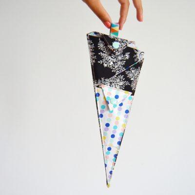 Scherentasche nähen Scherengarage Scherenetui Scherenmöhre selber machen Hülle Etui Tasche für Scheren DIY 1