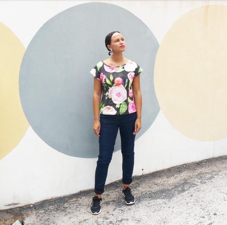 DIY MODE | Kimono Tee nähen