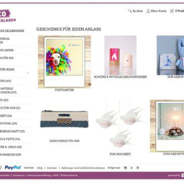 Ein kostenloser Onlineshop für deine DIY Produkte!*