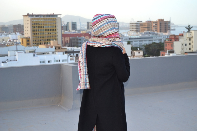 DIY MODE | Kapuzenschal nähen