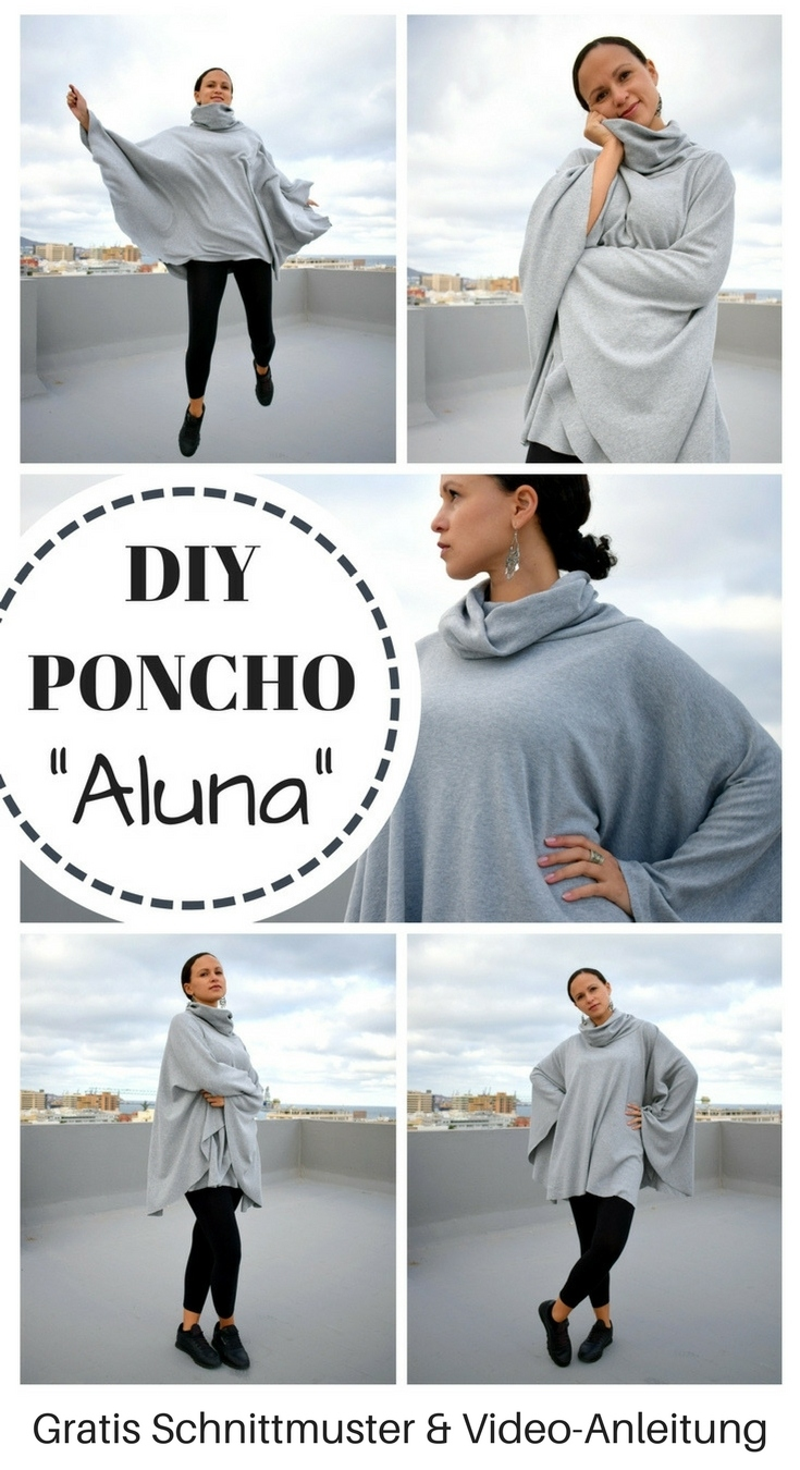 DIY MODE | Poncho nähen