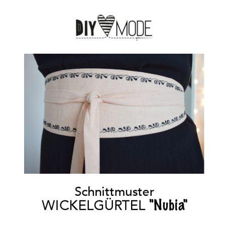 "DIY MODE Wickelgürtel ""Nubia"" nähen mit Schnittmuster"
