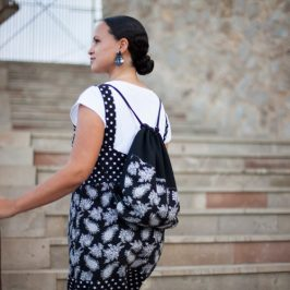 DIY MODE Nähblog Inspiration Kimono Tee Turnbeutel Bilder