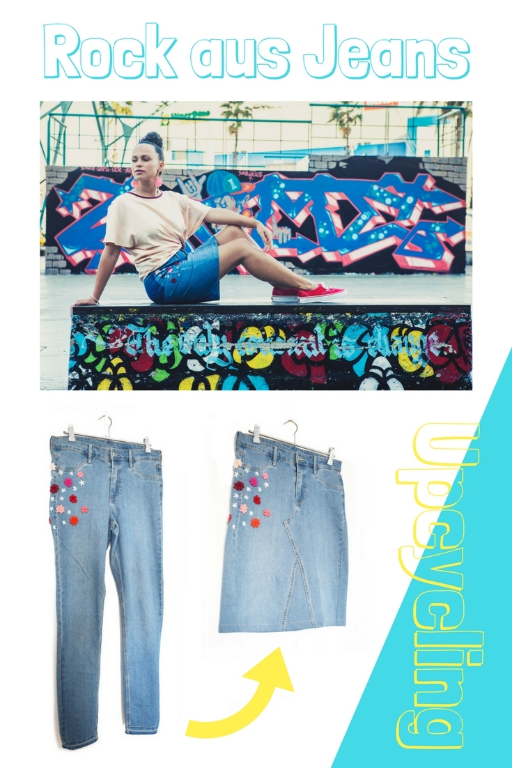 Diy Mode Rock Aus Jeans Upcycling