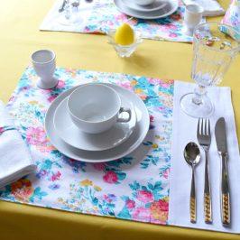 Einfache Tischsets nähen