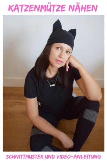 """DIY MODE Schnittmuster - Katzenmütze """"Miau"""""""