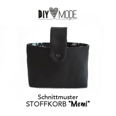 "Schnittmuster STOFFKORB ""Memi"""