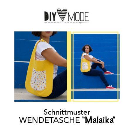 DIY MODE Schnittmuster Wendetasche Malaika