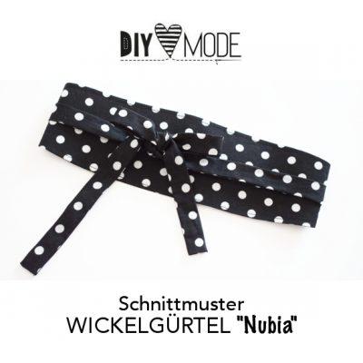 """Schnittmuster WICKELGÜRTEL """"Nubia"""""""