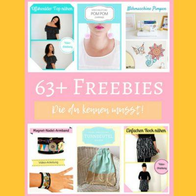 63 Freebies die du kennen musst