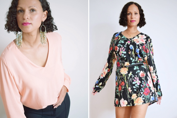 DIY MODE burda easy Kleid Bluse