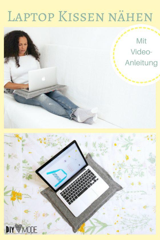 Laptookissen Laptop Unterlage Geschekidee Mann freebie kostenlose Anleitung Idee nähen Nähanleitung Nähidee für Anfänger Nähanfänger Kleinigkeit Geschenk DIY MODE