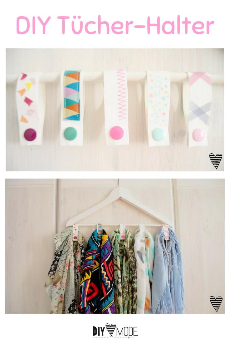 Snappap Snap Pap Idee Bastelidee praktisch für Zuhause Ordnung im Kleiderschrank Tücher aufhängen Idee