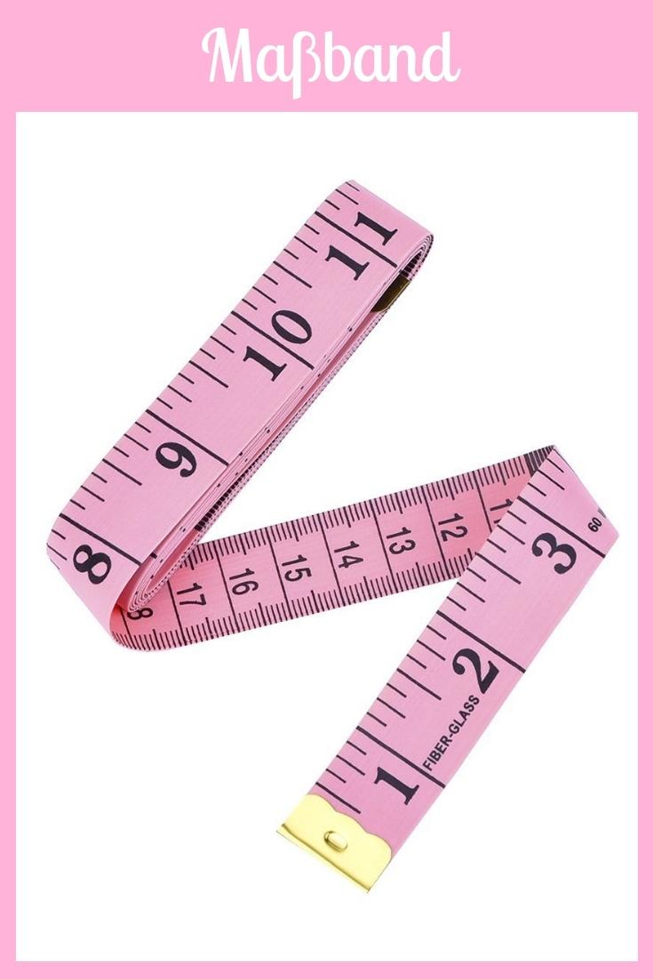 Maßband rosa pink groß Nähhelfer Nähwerkzeug Geschenkidee Nähgeschenk Geschenk für Schneider nähen Nähanfänger Werkzeug Nähzimmer Nähgedgets Nähprodukte