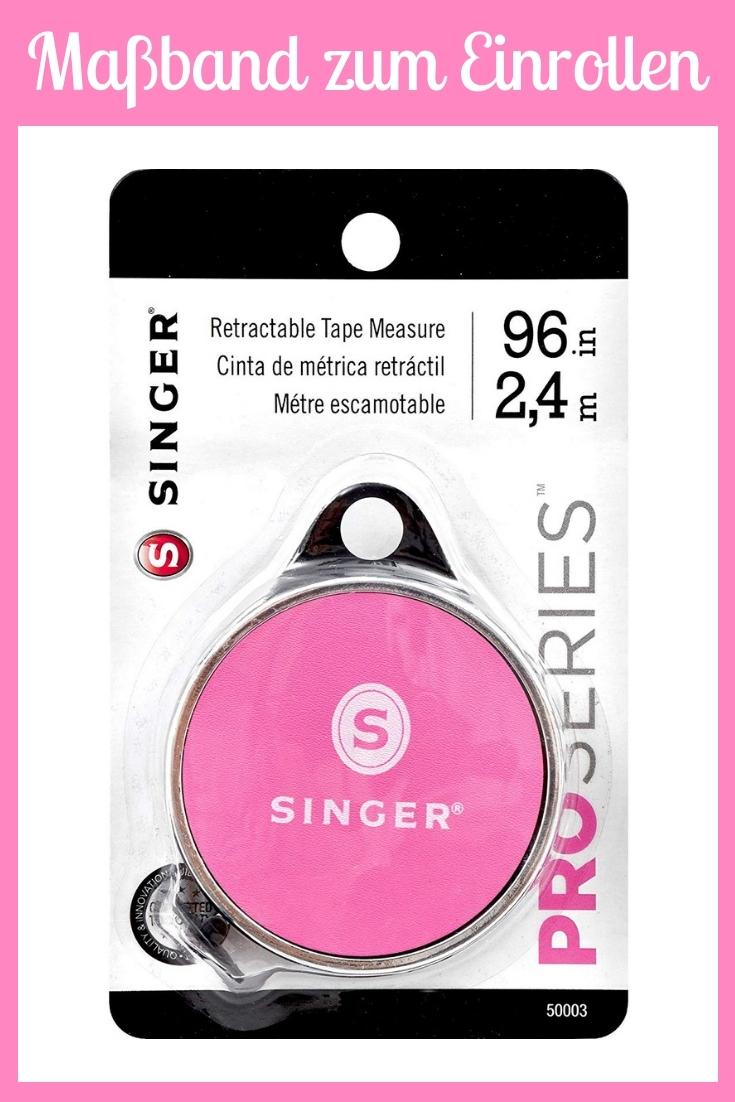 Maßband zum Einrollen rosa pink groß Nähhelfer Nähwerkzeug Geschenkidee Nähgeschenk Geschenk für Schneider nähen Nähanfänger Werkzeug Nähzimmer Nähgedgets Nähprodukte Singer