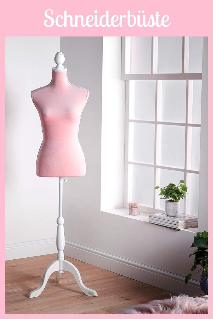 Schneiderbüste rosa pink groß Nähhelfer Nähwerkzeug Geschenkidee Nähgeschenk Geschenk für Schneider nähen Nähanfänger Werkzeug Nähzimmer Nähgedgets Nähprodukte