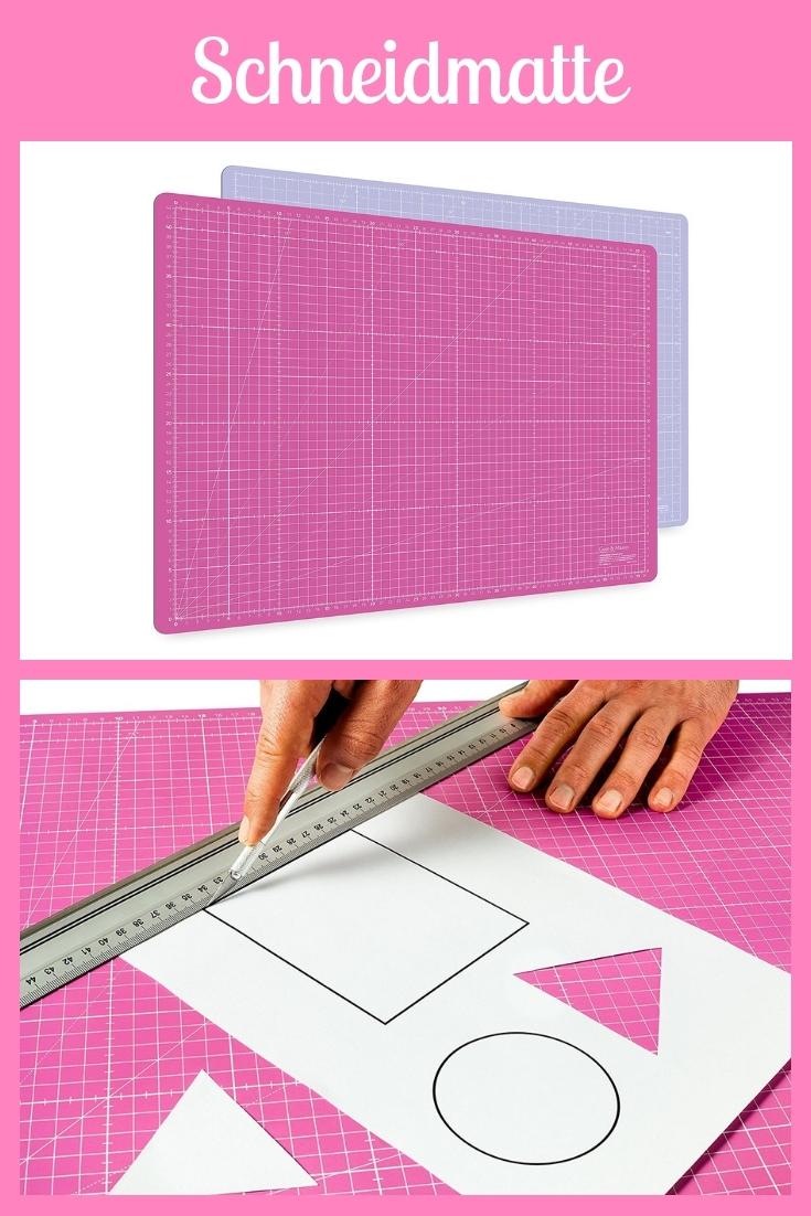Schneidmatte rosa pink groß Nähhelfer Nähwerkzeug Geschenkidee Nähgeschenk Geschenk für Schneider nähen Nähanfänger Werkzeuf Nähgedgets Nähprodukte