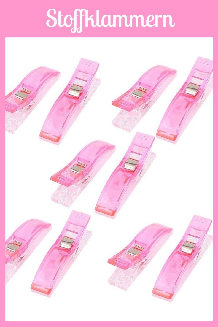 Stoffklammern Wonderclips rosa pink groß Nähhelfer Nähwerkzeug Geschenkidee Nähgeschenk Geschenk für Schneider nähen Nähanfänger Werkzeug Nähzimmer Nähgedgets Nähprodukte