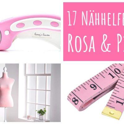 rosa pink Nähhelfer Nähwerkzeug Geschenkidee Nähgeschenk Geschenk für Schneider nähen Nähanfänger Werkzeug Nähzimmer Nähgedgets Nähprodukte