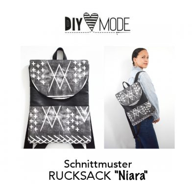DIY MODE Rucksack NIiara nähen mit Schnittmuster