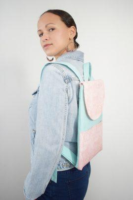 DIY MODE Rucksack Niara nähen Schnittmuster Nähidee Geschenkidee Geschenk Idee