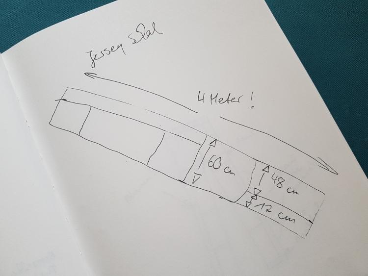 Maße Skizze