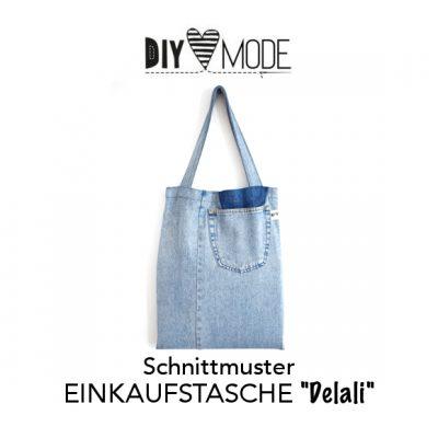 Gratis Schnittmuster Einkaufstasche Delali / DIY MODE