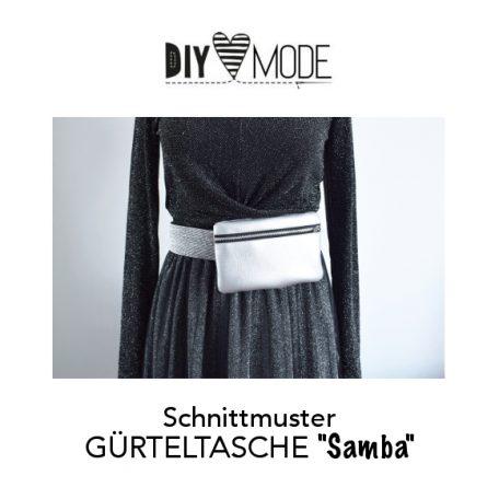DIY MODE Gürteltasche / Bauchtasche Samba mit gratis Schnittmuster