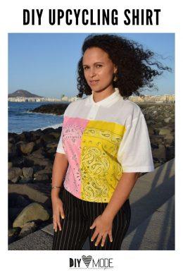DIY MODE Upcycling Bandana T-Shirt