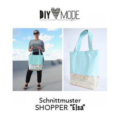 """Schnittmuster SHOPPER """"Elsa"""""""