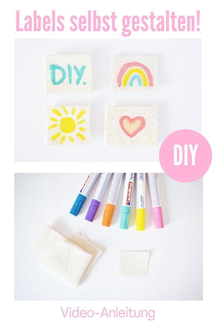 DIY Idee Labes selbst gestalten