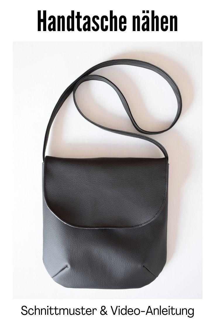 Handtasche aus Kunstleder naehen
